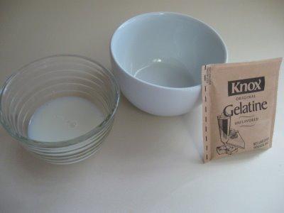 gelatin and milk