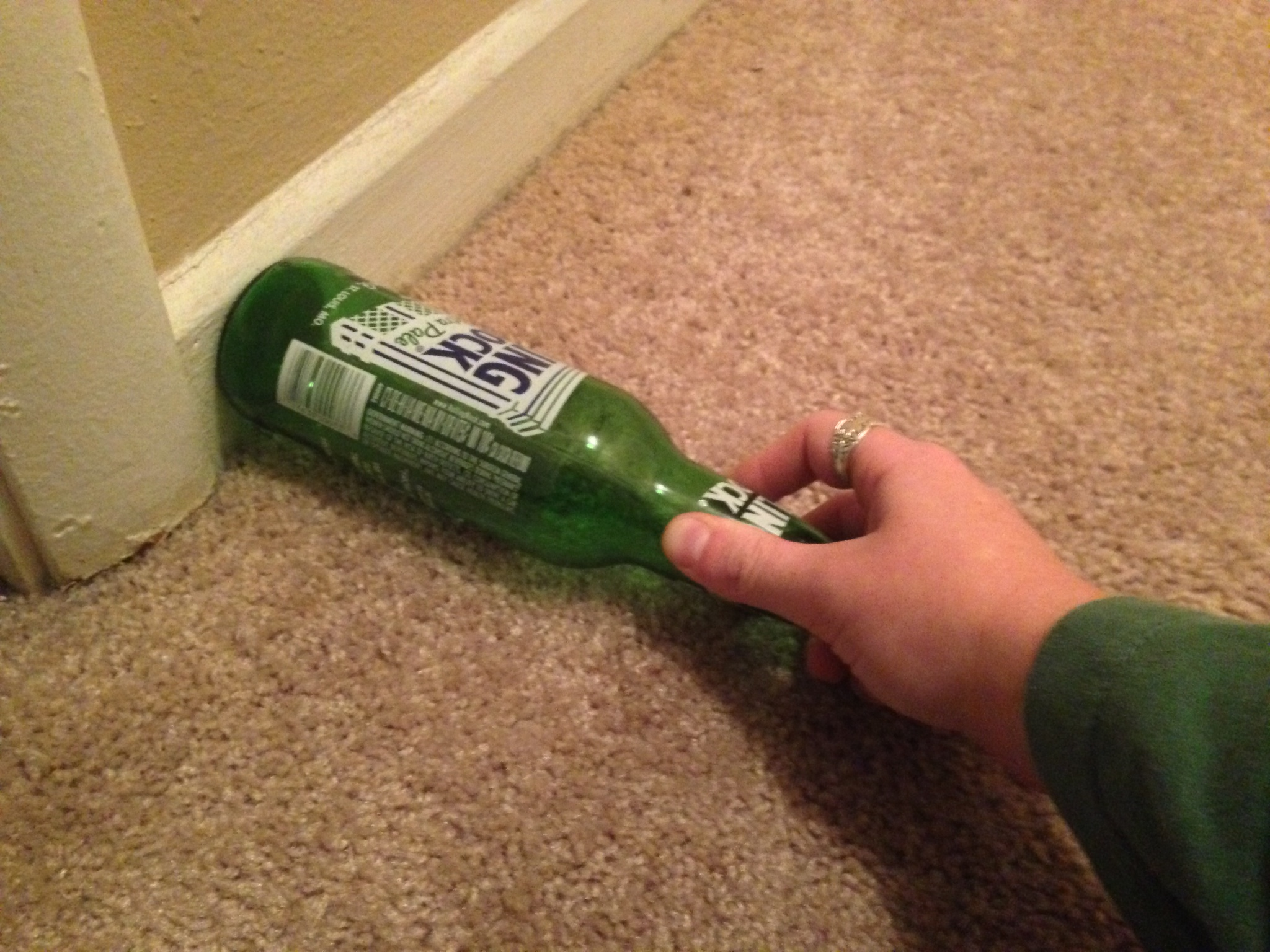 Experiments play my rhapsody for How to break bottom of glass bottle