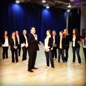 2.7.2012 - That time reVOLution was on the news! #photooftheday #ellenherewecome #acappella