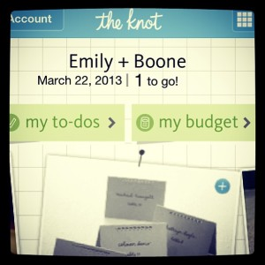 3.21.2013 - Oh my gosh I'm getting married. #cantsleep #tooexcited #1day @gutheb