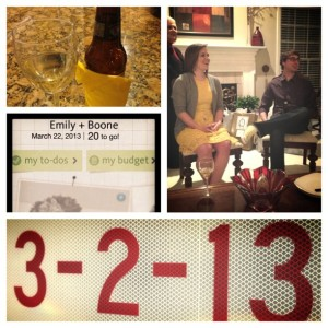 3.2.2013 - What a great way to celebrate a year of love! Our wedding shower! @gutheb Thanks to all who came!!!