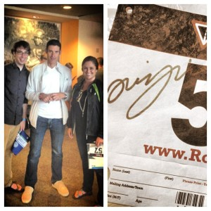 5.3.2013 - Met George Hincapie today! Such an awesome guy.